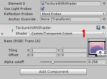 shader color